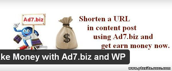 Ad7.biz - Get paid to share your links on the Internet!