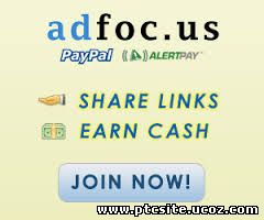 Adfoc.us - Get paid for every link you share on the Internet